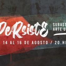Persiste: subasta de arte urbano en beneficio de artistas