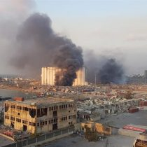 Se registra gigantesca explosión en un almacén de la zona del puerto de Beirut