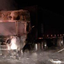 Ataque a camión dejó a menor de 9 años herida en ruta que une Collipulli y Angol