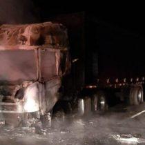 Gobierno se querella contra los responsables de ataque incendiario a camión que dejó a una niña de 9 años herida a bala
