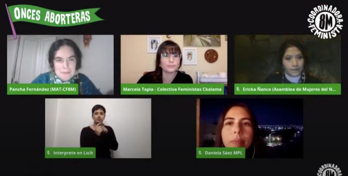 Realizan ciclos en vivo para debatir sobre la interrupción voluntaria del embarazo