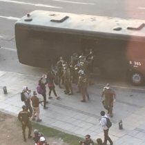 Registran detenciones tras manifestación a favor de Celestino Córdova y presos mapuche en huelga de hambre