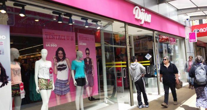 Tiendas Dijon cerró sus puertas