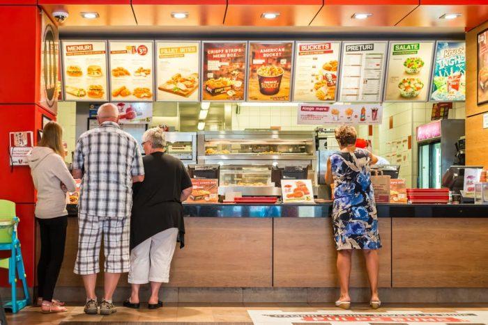 Ventas de comida rápida cayeron un 79,5% en el segundo trimestre del 2020 a nivel nacional