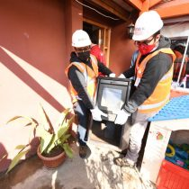 Más de 6 mil calefactores a leña han sido reemplazados gratuitamente por equipos eléctricos para mejorar la Calidad del Aire de la RM