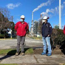 Visita de intendente marcó reinicio de operaciones de ENAP Refinería Bío Bío tras mantención