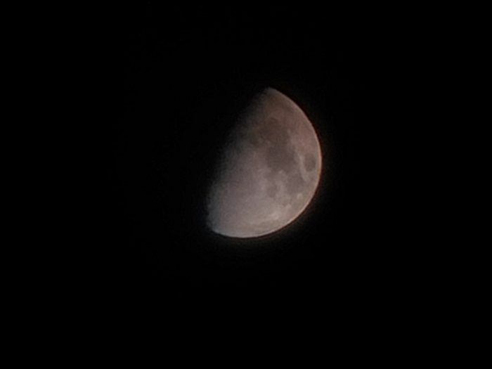 Logran imagen de la primera luz de la luna con innovador espejo fabricado íntegramente en Chile