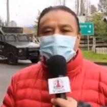 """""""Les dispararon a algunos dirigentes en el rostro"""": alcalde de Lumaco informó sobre un desmedido uso de la fuerza policial tras manifestación de comunidad mapuche"""
