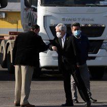 """Senador Harboe critica a Piñera por firmar proyecto """"Juan Barrios"""" rodeado de camioneros: """"El que amenaza con cortar las carreteras, tiene la atención presidencial"""""""