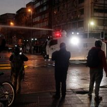 Disturbios en Plaza Italia: 21 personas serán puestas a disposición de fiscalía