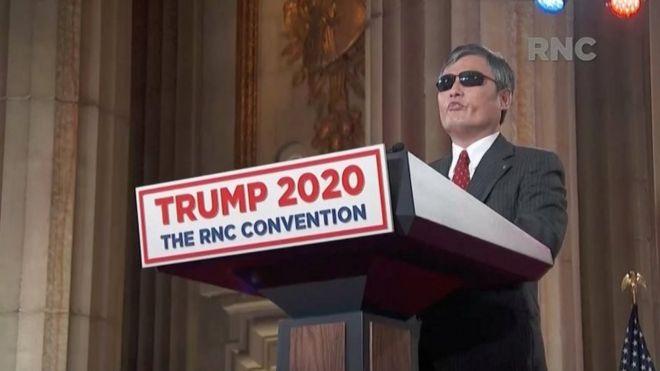 El controvertido apoyo a Trump del disidente Chen Guangcheng, que huyó de China con la mediación de Hillary Clinton