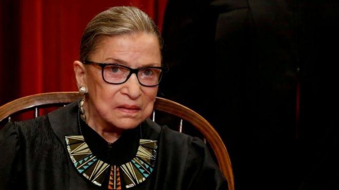Muere Ruth Bader Ginsburg, jueza de la Corte Suprema de EE.UU. e ícono de los derechos de la mujer