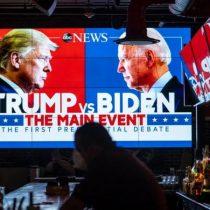 Debate Trump vs Biden: lo que el caótico enfrentamiento entre los candidatos a la presidencia muestra sobre el deterioro político de EE.UU.