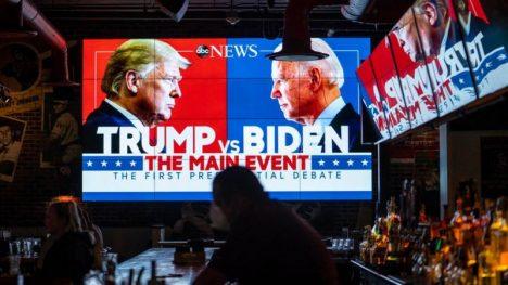 Debate Trump vs Biden: lo que el caótico enfrentamiento entre los candidatos a la presidencia muestra sobre el deterioro político de EE.UU. - El Mostrador