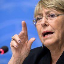 Bachelet pidió investigación rusa