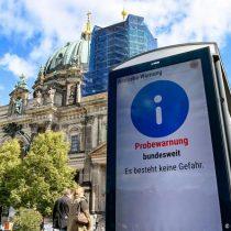Alemania realiza el primer simulacro de emergencia desde la reunificación