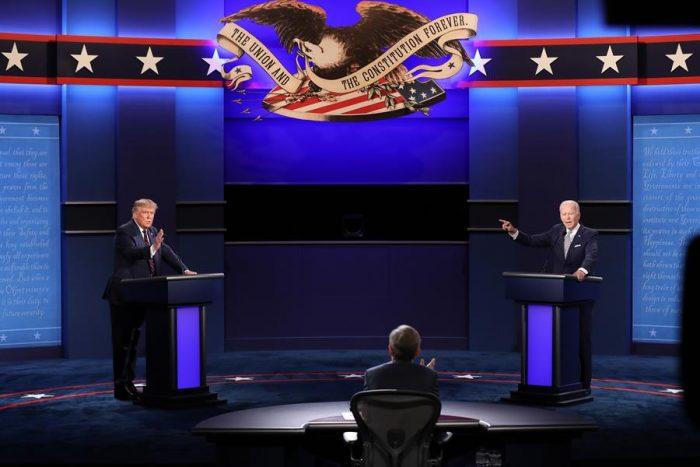 Elecciones presidenciales en Estados Unidos: los momentos más tensos en el debate entre Donald Trump y Joe Biden