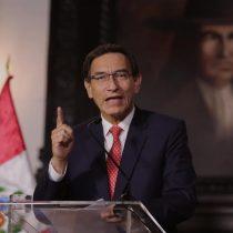 Congreso de Perú aprobó debatir destitución del presidente Vizcarra