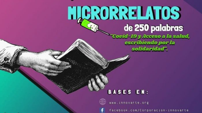 Concurso de microrrelatos sobre el Covid-19 cierra sus postulaciones