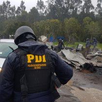 """Ministro Pérez por muerte de joven tras incendio de cabañas en Cañete: """"Hay grupos que quieren instaurar una política del terror"""""""