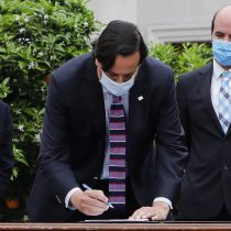 """Gobierno firma acuerdo con camioneros tras manifestaciones de septiembre: """"Vamos a trabajar para crear leyes que den herramientas al Estado"""""""