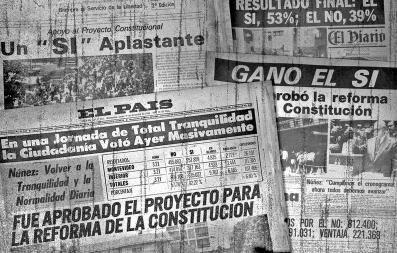 """Seminario """"40 años"""". El plebiscito, la Constitución de 1980 y sus proyecciones para el día de hoy"""
