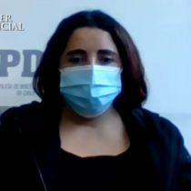 Caso Ámbar: Juzgado de Garantía de Villa Alemana acoge solicitud de Fiscalía y decreta la prisión preventiva para Denisse Llanos por el delito de parricidio consumado