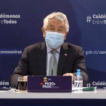 Covid-19: Minsal reporta la cifra más baja de muertes en últimos 90 días y anuncia que 6 comunas entrarán en cuarentena y otras 7 a Transición