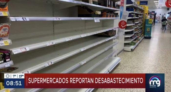 El desabastecido supermercado sureño de Mega donde se paga… en libras esterlinas