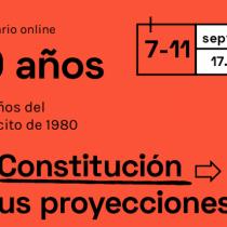 """""""La Constitución y el modelo neoliberal"""": Siga en vivo el seminario """"A 40 años del plebiscito de 1980"""""""