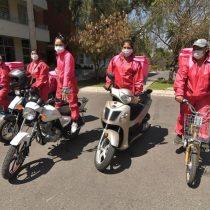 'Pink Delivery', el reparto a domicilio que empodera a mujeres en Bolivia