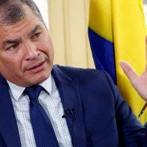 Justicia ecuatoriana confirma condena contra expresidente Correa