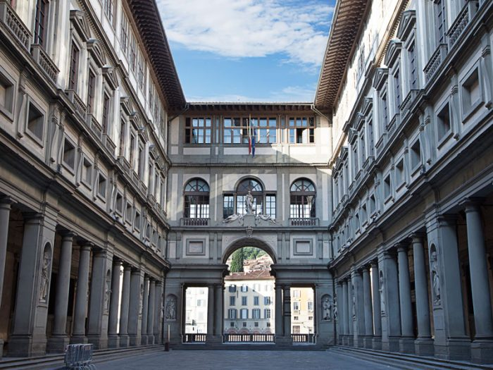 Recorrido virtual de Galería Uffizi con UNAB