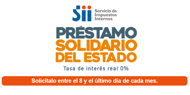 Usuarios reportan problemas para solicitar Préstamo Solidario en el SII