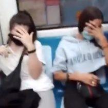 Menores de edad fueron detenidas luego de escupir y realizar actos racistas a una pareja de ecuatorianos en el Metro de Madrid