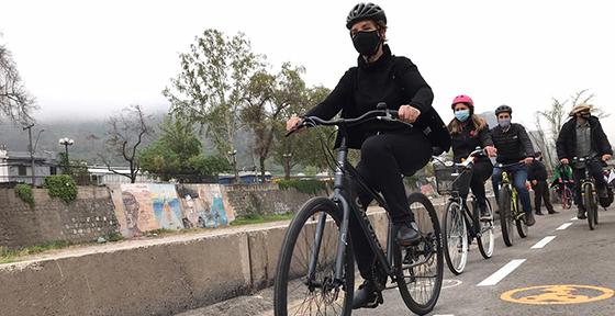 Estudio muestra aumento del uso de bicicletas compartidas durante la franja horaria deportiva