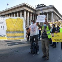 Vuelven los 'chalecos amarillos' a París: 23 detenidos antes de la concentración