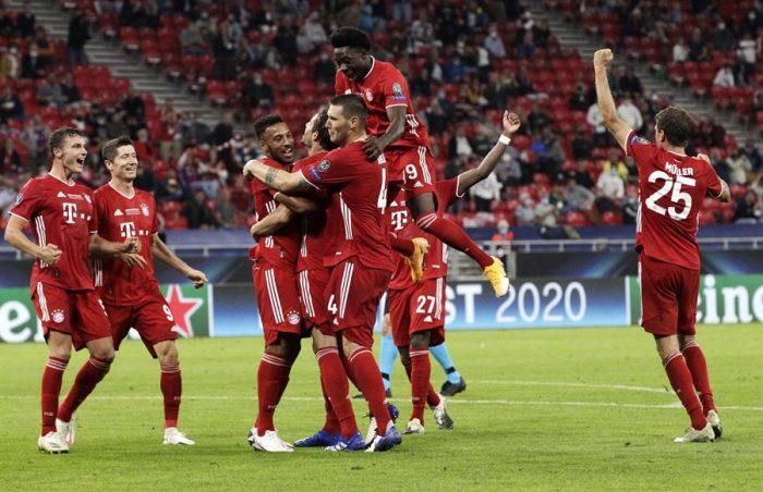 Supercopa de Europa Bayern Munich gana en la prórroga al Sevilla y se consagra campeón