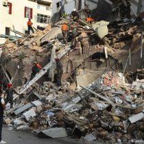 Rescatistas chilenos descartan signos de vida en edificio derruido en Beirut