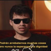 """Gustavo Gatica participa en la franja del """"Apruebo"""": """"Podrán arrebatarnos muchas cosas pero nunca la esperanza y la dignidad"""""""