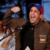 Capriles increpa a Guaidó por acusarlo de dialogar a
