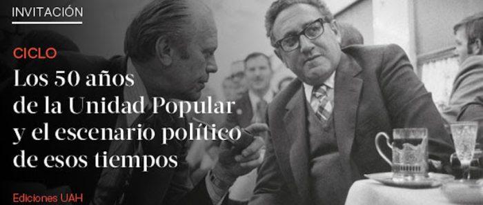 """Conversatorio sobre el libro  """"Miradas desclasificadas: El Chile de Salvador Allende en los documentos estadounidenses (1969-1973)"""" vía online"""