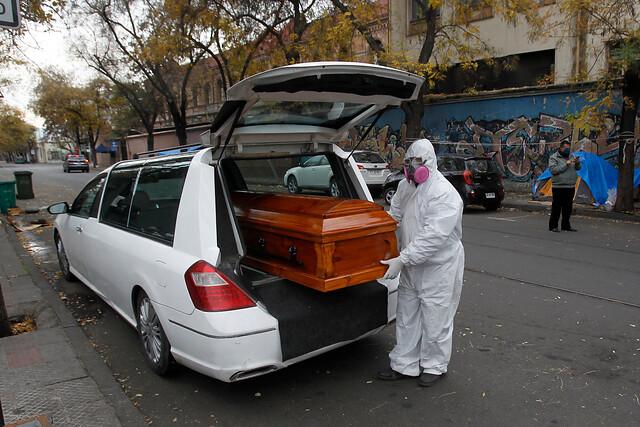 DEIS: muertes por Covid-19 superan las 35 mil en Chile, entre casos confirmados y probables