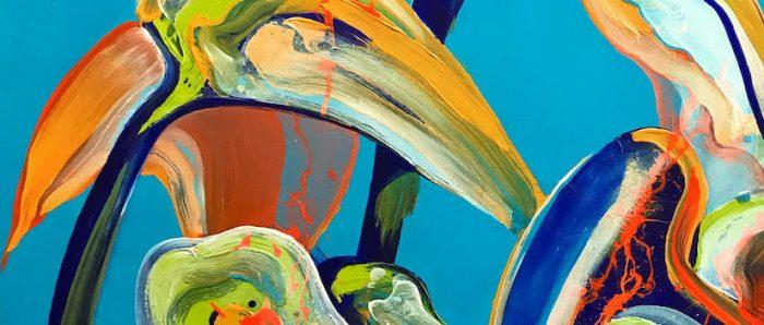 """Muestra """"Eterna Primavera"""" del artista Santiago Errázurizen CV Galería"""