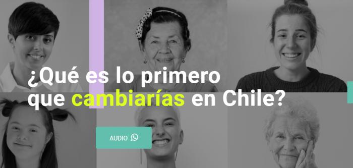 """Proyecto """"Nuestra Voz"""": más de 800 mujeres comparten sus testimonios acerca de qué cambiarían de Chile"""