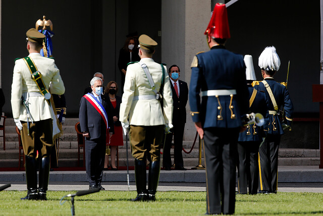 Piñera y su relación con las FF.AA.