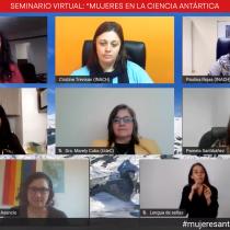 """Revive """"Mujeres en la ciencia Antártica"""", el seminario que vinculó a investigadoras, estudiantes y docentes de Chile"""