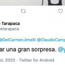 Gore de Tarapacá lamenta tuiteos de la cuenta de la Subdere de la región a favor del