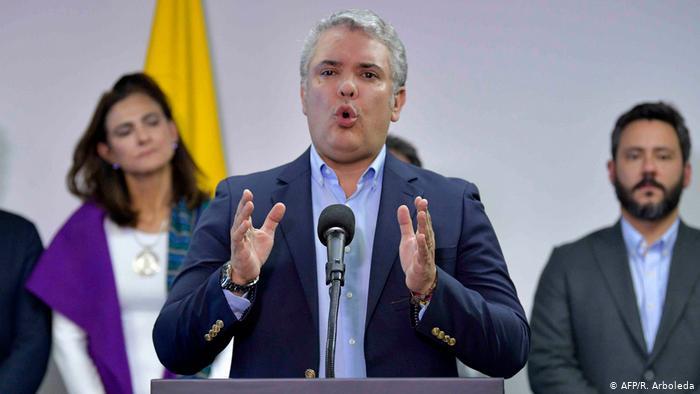 Presidente Duque llama a Colombia a la calma luego de las protestas por abuso policial