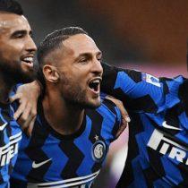 Con el estreno de Vidal en cancha: Lautaro, Lukaku y Alexis le dieron al Inter un triunfo 4-3 ante la Fiorentina